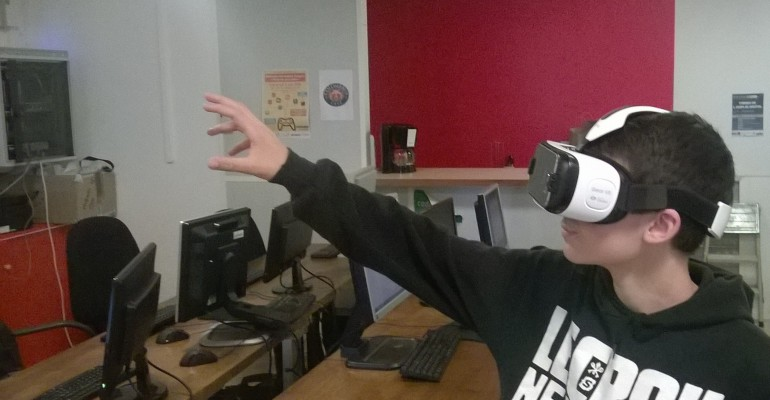 La réalité virtuelle s'invite aux ateliers Declick du Mercredi