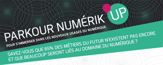 Top départ pour un «Parkour Numerik'Up» 100% femmes
